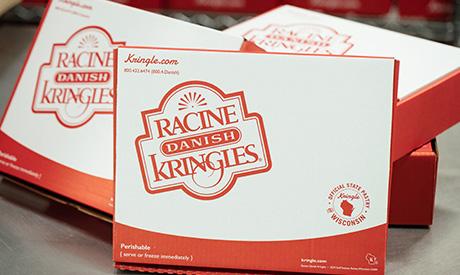 Racine Danish Kringles Individual Box