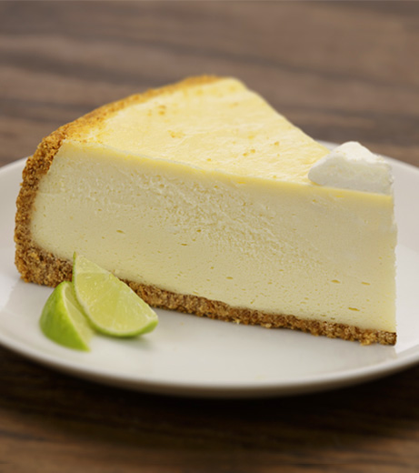 Aunt Marie's Key Lime Cheesecake