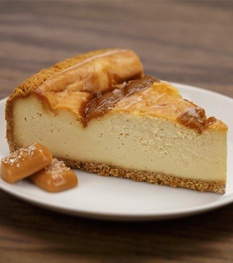 Aunt Marie's Sea Salt & Caramel Cheesecake