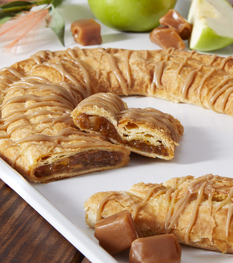 Caramel Apple Kringle