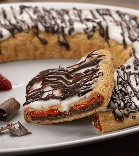 Chocolate Strawberry Kringle