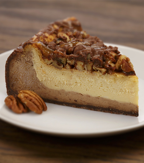 Aunt Marie's Turtle Cheesecake