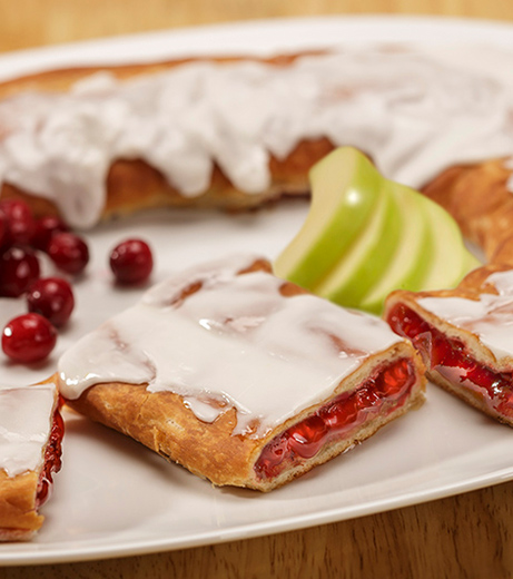 Cranberry Apple Kringle