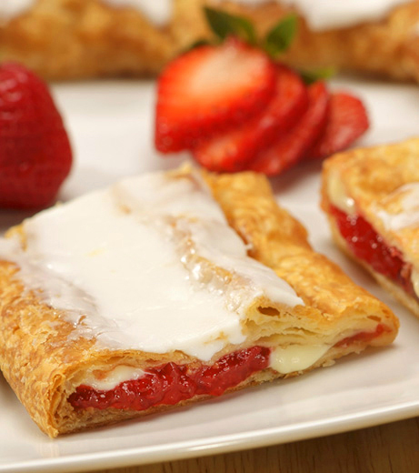 Strawberry Cheesecake Kringle