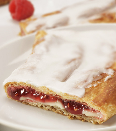 Raspberry Cheesecake Kringle