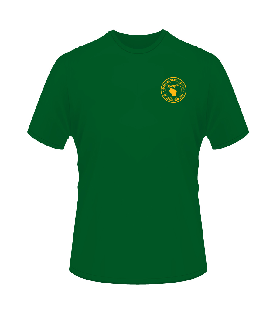 Wisconsin T-Shirts-Green & Gold