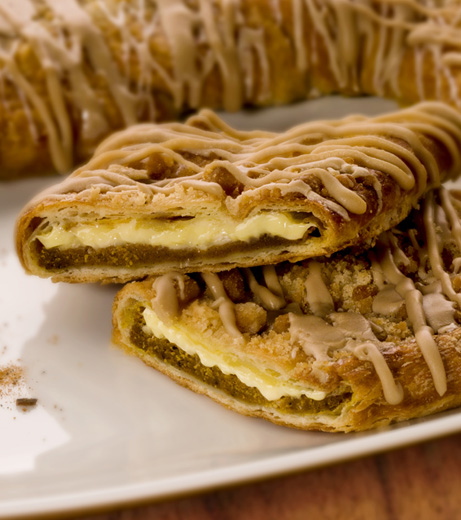 Pumpkin Crème Kringle