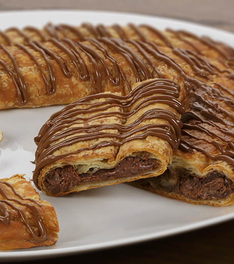 Chocolate Hazelnut Kringle