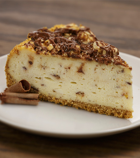 Aunt Marie's Snickers® Cheesecake