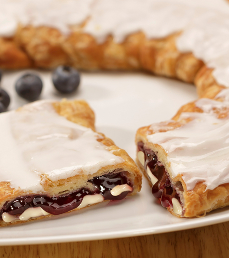Blueberry Cheesecake Kringle